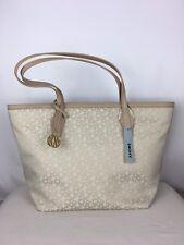 DKNY heritage with Saffiano PVC Hemp-Lt chno colour tote bag RRP £260