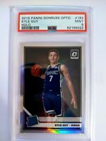 Kyle Guy 2019-20 Panini Donruss Optic Holo Silver RC Rated Rookie PSA 9 MINT
