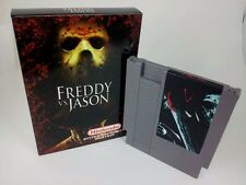 Freddy VS Jason - Fan Game Nintendo NES with Custom Box!