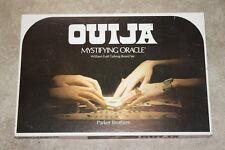 Vintage 1972 Parker Brothers William Fuld Ouija Board Creepy Halloween Party