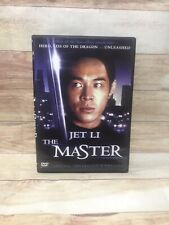 Jet Li: The Master DVD COLLECTORS EDITION ENGLISH DUBBED MINT DISC (M7)