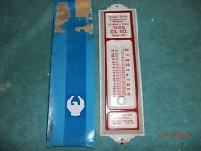 Vintage Original Car Truck Van Gas and Oil Thermometer Display Ford Chevy Dodge