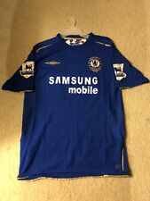 Chelsea Carvalho Jersey 2005 2006 home shirt soccer football Umbro Authentic M