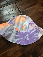 Carter's Baby Toddler Sunhat Sun Hat Girls Beach Polka Dot Poplin 3-9 Months