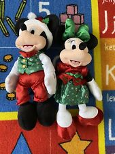 2019 Christmas Mickey Mouse And Minnie Mouse From The Disney Store
