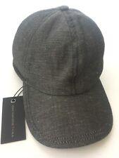 JOHN VARVATOS Baseball Merino Wool Cap In Gray Size S M NWT 359c605a2ed