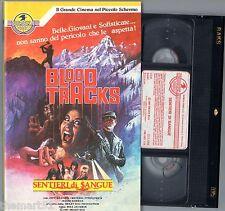BLOOD TRACKS  Sentieri di Sangue (1987) VHS  Eureka  Jeff Harding   Fitzpatrick