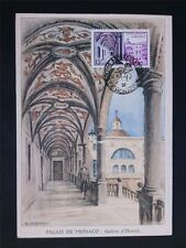 Monaco MK 1952 Postmuseum Galerie Hercule maximum CARTE MAXIMUM CARD MC cm c6769