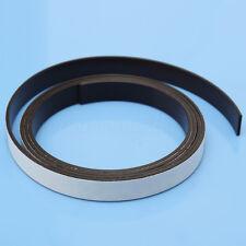 1M Ruban Aimant Magnétique Flexible Rouleau Bande Magnet Adhésif Strip 10x1.5mm