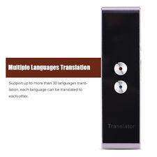 Translation Intelligent Translator 30 Languages Instant Voice Mini Pocket Device