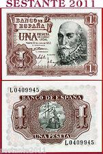 SPAIN - SPAGNA - 1  PESETA  22.7. 1953   -  P  144    -   FDS / UNC