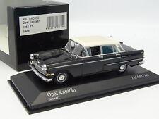 Minichamps 1/43 - Opel Kapitan 1959 Negra