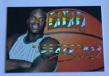 NBA Fans Shaquille O'Neal 94-95 SHAQ Gold Sign RARE