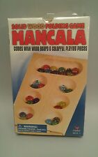 Mancala Solid Wood Folding Game by Cardinal New 2006 NEW