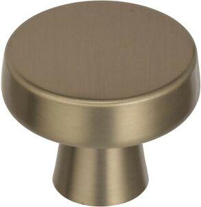 Amerock 1-5/16 Golden Champagne Cabinet Knob (10 Pack) 10BP55270BBZ
