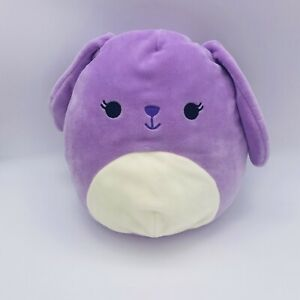"Squishmallows Bunny Purple Bubbles 8"" Easter KellyToy Plush Stuffed Animal"