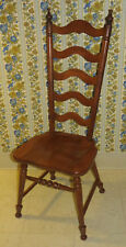 Tell City Chair Co Hard Rock Maple Tall Ladderback Dining Room Andover 8036