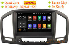 Android 7.1 Car DVD Player Radio GPS for Opel / Vauxhall / Holden Insignia Brown
