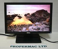 """Dell 17"""" E1709W MONITOR  LCD TFT Widescreen 1440 X 900 VGA 16:9 GRADE A"""