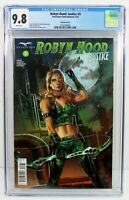 ROBYN HOOD: JUSTICE #3 CGC 9.8 NM/MT Otero/Mos Variant Cover C ZENOSCOPE 09/2020