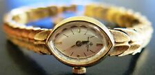 Vintage Baume & Mercier Solid 14K Yellow Gold Ladies Watch 1971