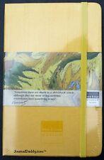 Moleskine Yellow Silk Shantung Lined Notebook Van Gogh Museum Circa 2002 Mint