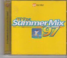(FX438) 100% Summer Mix 97, 2CD  - 1997 CD
