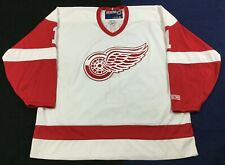 Detroit Red Wings Father's Day Red Number #1 Dad Ice Hockey CCM Jersey Size2XL