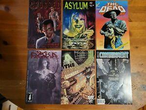Horror comics lot