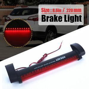 Car Red 24LED 12V High Mount Third 3RD CHMSL Brake Stop Tail Light Add-on H2