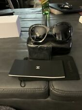 Womens Black Chanel Sunglasses Style 0CH5323