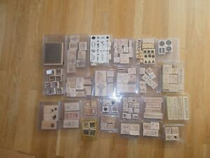Stampin Up Stamp Lot 162 Stamps Total