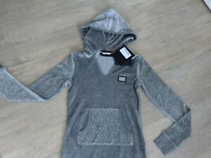 """Hoody Long- hoodie Nicki Sweater Pullover - Philipp Plein """"voyage"""" gr. S 36 38"""