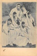PARSEE LADIES India Zoroastrian ca 1900s Antique Vintage Postcard
