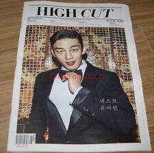 HIGH CUT VOL.171 BTS BANGTAN BOYS 방탄소년단 RED VELVET TABLO KOREA MAGAZINE TABLOID