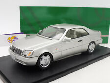 "Cult CML079-1 # Mercedes Benz 600 SEC C140 Baujahr 1992 "" silbermetallic "" 1:18"