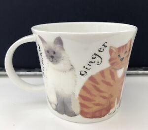 Roy Kirkham Fine Bone China Whiskers Cat Mug