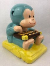 Monkey Bank Counting Abacus Ceramic Wells Fargo 2016 Chinese Year Of The Monkey