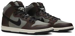 Size 9.5 - Nike SB Dunk High Pro Baroque Brown