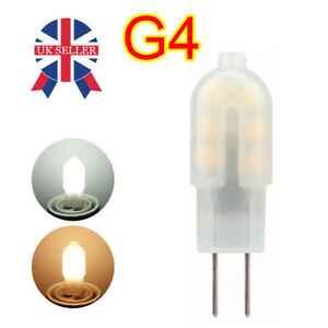 10 x G4 LED 2W = 20W Capsule Light Bulb True Size Replacement For G4 Bulbs DC12V