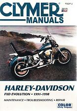 1991-1998 Harley Fxd Wide Glide Dyna Low Rider Repair Service Shop Manual M4242 (Fits: Harley-Davidson)
