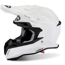 CASCO MOTO CROSS AIROH TERMINATOR 2.1 S COLOR WHITE GLOSS 2017 TAGLIA L