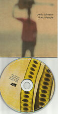 JACK JOHNSON Good People w/No other way ACOUSTIC CARD Europe CD single USA Seler
