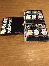 SODA STEREO 30 GRANDES 2 CD BOX COLOMBIA SONY MUSIC COLUMBIA 1999