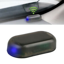 Flash Light Solar Energy Simulation Dummy Anti-Theft Alarm Warning Security Blue