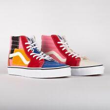 Vans Sk8 Hi Patchwork Skate Shoes Women's size 6