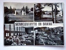 TRIESTE BANNE SEMICONVITTO vedutine vecchia cartolina