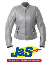 iXS Sally Ladies Leather Motorcycle Bikers Scooter Race Jacket XL