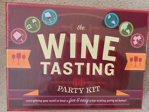 The Wine Tasting Party Kit: Everything You Need to Host a Fun & Easy Wine