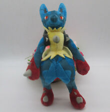 "TAKARA TOMY Pokemon Center 11"" Mega Lucario XY Stuffed Plush Doll"
